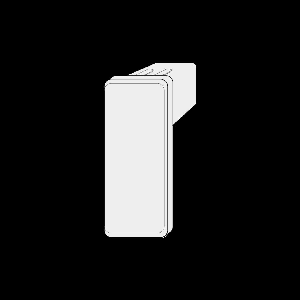 21 045 xxx U Rahmen Endkappe 1 - https://www.werzalit.com/en/balcony-profile-roma/