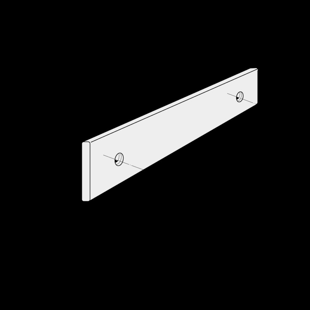 21 096 xxx Laengsverbinder fuer Handlauf und Montagegurt 125 1 - https://www.werzalit.com/fr/produit/square-panneau-de-revetement-balcon/