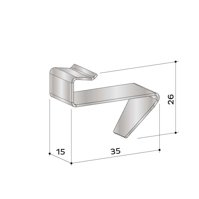 22 458 064 alu uk starterklammer - https://www.werzalit.com/nl/product/entero-2-0-premium-massivdiele/