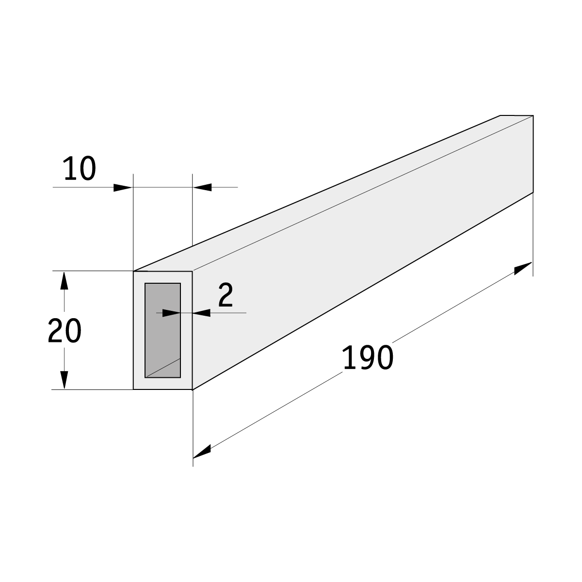 23 016 000 Verbindungselement milano - https://www.werzalit.com/en/product/verbindungselement-milano/