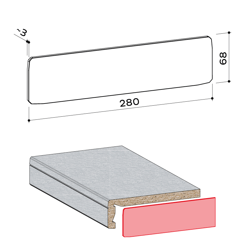23.089.001 Seitenabschlusskappe compact system 65