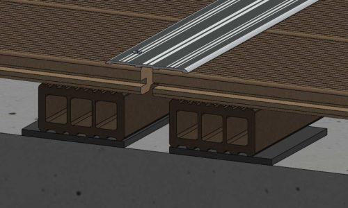 ES Alu Fugen Abdeckleiste 500x300 1 - https://www.werzalit.com/en/terrace-deckings-planning-and-assembly/