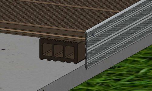ES Alu Kantenabschlussleiste 500x300 1 - https://www.werzalit.com/en/terrace-deckings-planning-and-assembly/