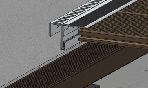 ES Alu Wandanschlussprofil 500x300 1 - https://www.werzalit.com/en/terrace-deckings-planning-and-assembly/