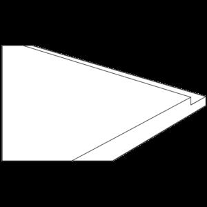 Hinterkante ausfalzen - https://www.werzalit.com/nl/exclusiv-systeem-vensterbank/