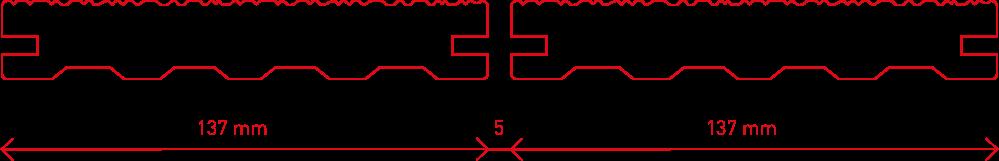 Leno-14-Fugenbreite