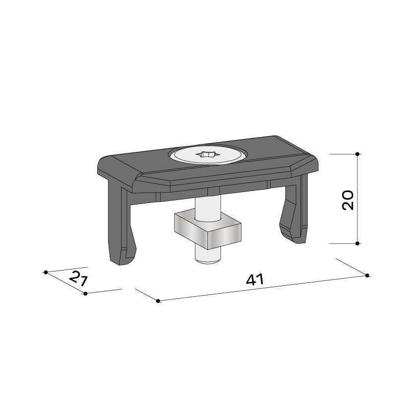 Montageklammer alu 22 457 055 - https://www.werzalit.com/nl/product/entero-2-0-premium-massivdiele/