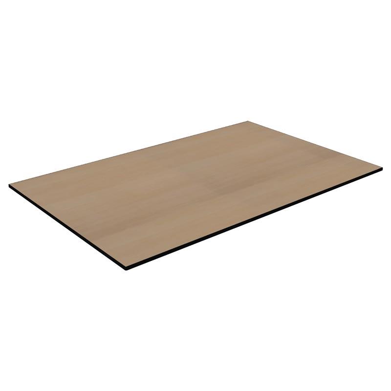 TICAR E120X80 019 - https://www.werzalit.com/fr/produit/plateau-de-table-carino-e-100x60-epaisseur-du-plateau-de-la-table-12mm-decor-019-buche-geplankt/