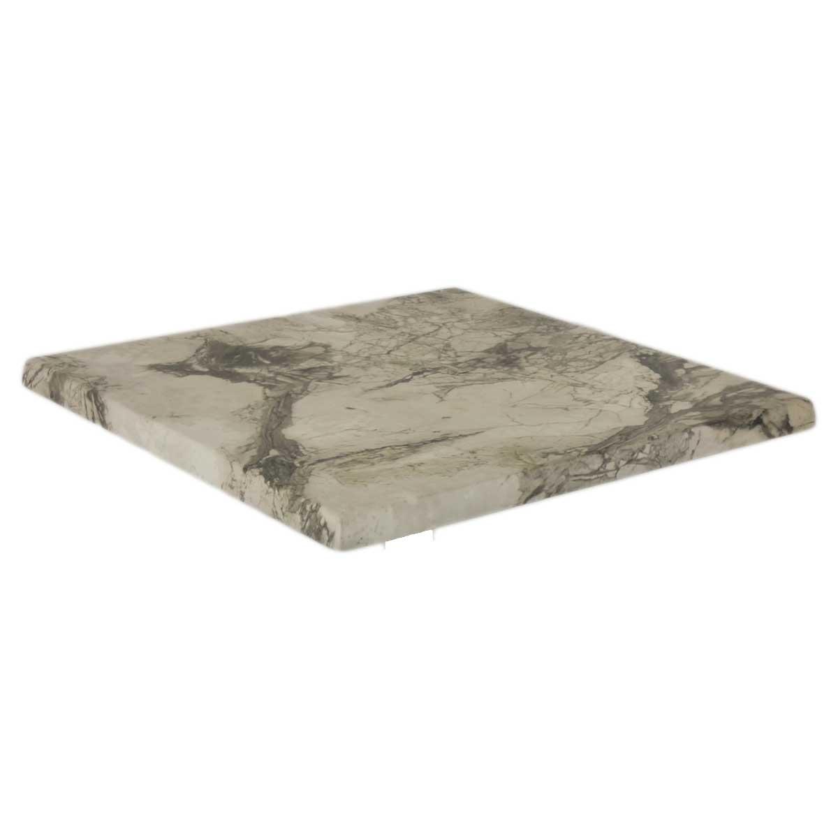 TICLA Q70 209 - https://www.werzalit.com/nl/product/tafelblad-classic-werzalit-q-70x70-209-marmor-almeria/