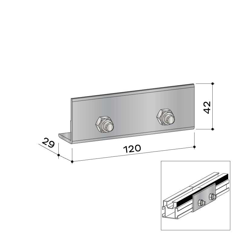 UK verbinder alu 40x40 22 455 000 - https://www.werzalit.com/nl/product/entero-2-0-premium-massivdiele/