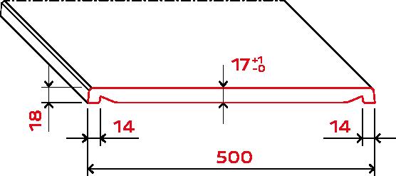 compact dp draft measure - https://www.werzalit.com/fr/produit/compact-innenfensterbank-600cm/