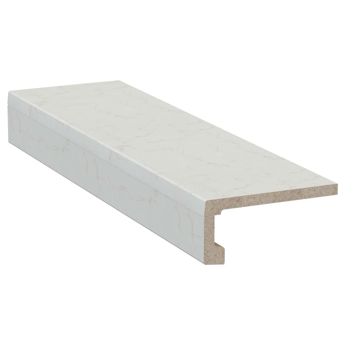 exclusiv system 100 070 - https://www.werzalit.com/es/producto/exclusiv-system-la-repisa-para-interior-longitud-6-000-mm-anchura-400-mm-altura-de-apertura-140-mm-decoracion-070-marmor-bianco/
