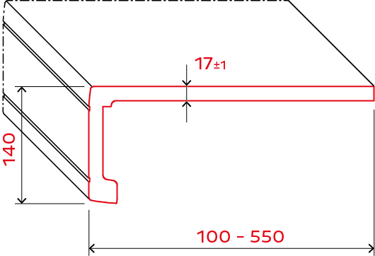 exclusiv system 140 draft measure