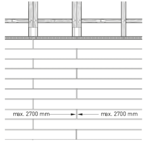 selekta horizontale Verlegung Schiffsverband