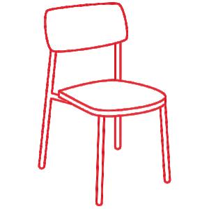 stuhl zeichnung 600x600 1 - https://www.werzalit.com/nl/outdoor-meubilair/